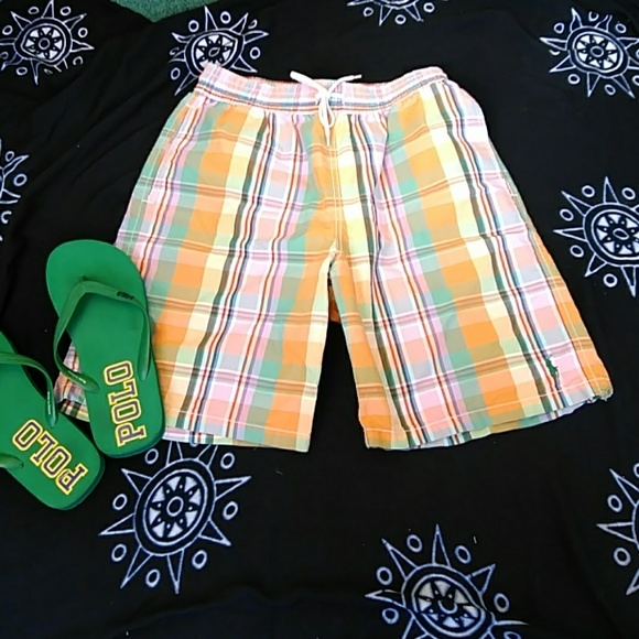 MENS POLO RALPH LAUREN SWIMWEAR SIZE S..